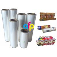 Buy Premium Center Folded Polyolefin Shrink Film For Heat Wrapping Moisture Proof at wholesale prices