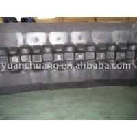 Quality Rubber Crawler excavator rubber track for sale