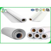 Quality Waterproof Plotter Paper Roll Strong Stiffness 100gsm 889mm For Building CAD for sale