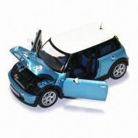 China Die-cast Mini Cooper Car with Metal Car Body and Plastic Chassis, Measuring 21.4 x 10.7 x 9.6cm on sale