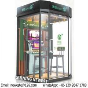 Buy Mini K Mobile KTV House Box Karaoke Player Practise Sing Song jukebox Coin Operated Music Video Simulator Game Machine at wholesale prices
