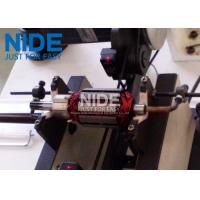 Buy PLC Controlled Armature Balancing Machine , Automatic Motor Rotor Testing Equipment at wholesale prices