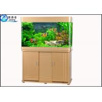 Quality Wall Mounted Custom Fish Tanks Upscale Atmosphere For Office Decoration for sale