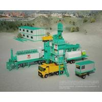 Buy 1500 Model Asphalt Mixing Plant Mobile , Portable Batch Plant With 20T Hot at wholesale prices