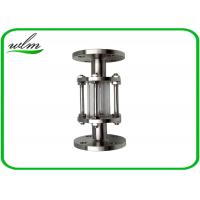 Quality Full Bore Sanitary Sight Glass Flange Type , 304 / 316L Stainless Sight Glass for sale