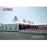 Quality Circular Tower Shape Large Party Tent With Rain - Proof Sidewalls UV Resistance for sale
