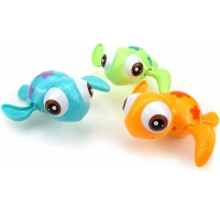 Quality Silicone Swimming Turtle Bath Toy , Small Size Cute Sea Animal Bath Toys for sale