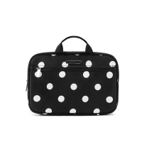 China Water Repellent L28*D8*H19cm Polyester Cosmetic Bag on sale