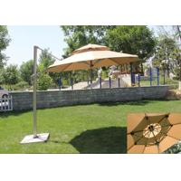 Quality Classic Round Top Starbucks Patio Umbrella For Outdoor Garden Furniture for sale