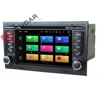 Quality Octa Core 64bit Processor 2 Din Car Dvd Player Audi A4 Head Unit Supports 4K Video for sale