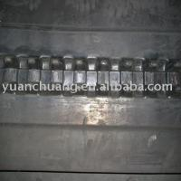 Quality Excavator rubber track(600*100*LINKS) for sale