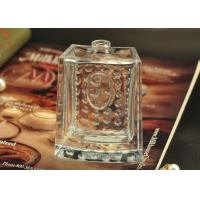 Buy 80ml Rectangle Empty Glass Perfume Bottle hobnail Pattern for Fragrances at wholesale prices
