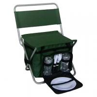 Quality Folding Chair with Cooler bag (Picnic bag Set)--camping luggage set for sale