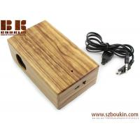 Quality New Mini Induction portable Boombox For phone Wireless music speaker Wooden Speaker for sale