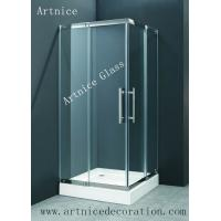 Quality 6mm to 19mm tempered / toughened glass door with ISO9001, CE, Australia  AS/NZS 2208 Certificate for sale