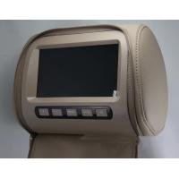 China HD Digital Screen Mobile Headrest DVD Player 1065g Weight PAL / NTSC Video Frequency on sale