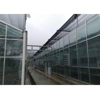 Quality Farm Tempered Glass Greenhouse Hollow Insulated Building Facade High Strength for sale