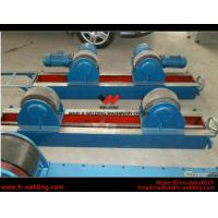 Quality Conventional 10 Ton Tank Welding Rotators for Boiler Industry , PU Roller Turning Rolls for sale