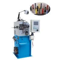 Quality Automatic Oiling Spring Bending Machine 500kg With CNC Controlled Servo Motion System for sale