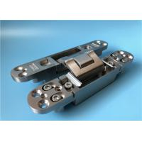 Quality Stainless Steel 3D Concealed Hinges  Soss Door Hinges 5 Year Service Life for sale