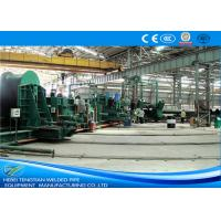 Quality Blue Colour Spiral Welding Machine , Pipe Welding Machine 800mm Coil Width for sale