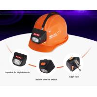 China 120 Lumens Portable Industrial Lighting Fixture Under Ground Safety Miners Cap Light on sale