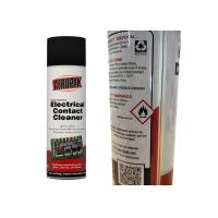 Quality Fast Drying Electrical Contact Cleaner For Dissolves Industrial Grease / Grime for sale