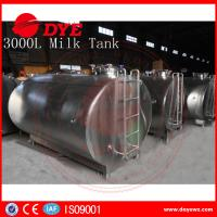 Quality 5,000 Litre Horizontal Milk Cooling Tank Mueller Milk Tank Copper for sale