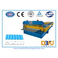 0.8~1.2mm Thickness metal roof roll forming machine , roofing sheet roll forming