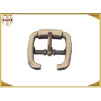 Quality Antique Brass Edge Hole Metal Sandal Shoe Buckles Zinc Alloy Material for sale