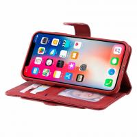 China Multifunction Removable iPhone Leather Wallet Case with Card Slot for   iphoneX 6G 7G 8G PLUS on sale