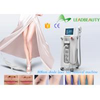 Quality 808nm diode professional pain free laser hair removal machines longer working time for sale