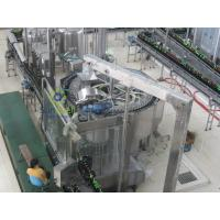 Quality Rotary Automatic Beer Filling Machine , Multi-Head Volumetric Filling Machine for sale