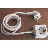 Quality Germany type iron board power cord, European AC socket wire for sale
