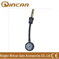 China Dial truck 4X4 digital Tire Pressure gauge with protective rubber casing on sale