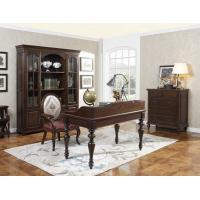 Quality Home Office Study room furniture Wooden Reading Writing desk Computer table with Storage cabinet and Bookshelf cabinet for sale