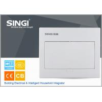 Quality GNB 3010 10 mounted units electrical distribution box design flexibly high quality ABS material distribution box  size for sale