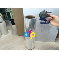 Quality 76mm Core BOPP Plain Film , Wet Lamination Film For Large Format Laminate for sale