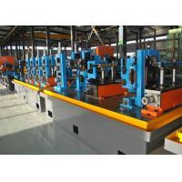 Quality Straight Seam High Frequency Erw Pipe Milling Machine , Worm Gearing Max.80m / min for sale