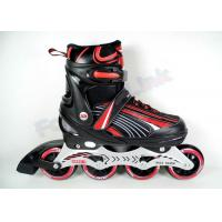 Quality Women's PVC Leather Youth Inline Hockey Skates with High Strength and Anti-Wrinkle Mesh for sale