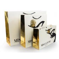 Quality Luxury Shopping Paper Bags with Your Own Logo Printing Paper Bags for sale