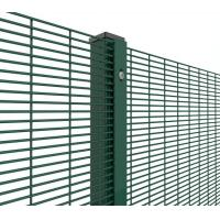 Buy cheap 358 Welded Wire Mesh Security Fence Systems For Prison / Airport / Port from wholesalers