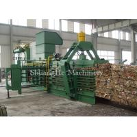 Recycling Plastic Baling Machine With Touch Screen And Visible Windows