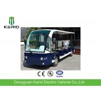 Quality Left Hand Drive 5kw DC Motor Low Noise Electric Sightseeing Car With 11 Sofa Seats For Resort for sale