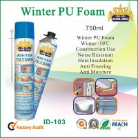 Quality Heat Insulated Winter PU Foam Sealant Gun Type For Adhering And Sealing for sale