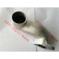 China Diesel Spare Parts Silencer Bend Exhaust Pipe Silicone Material For Cf1125 on sale