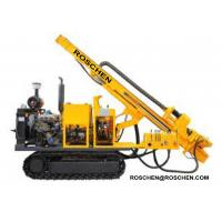 China Hydraulic Photovoltaic Pile Hole Drilling Rig , Crawler Mounted Pile Hole Drilling Equipment on sale