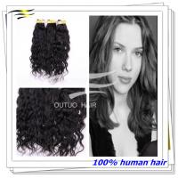 China Wholesale virgin brazilian remy human hair weaves Water wave ,various colors and style on sale