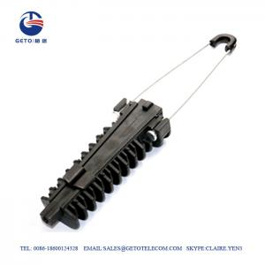 Quality 16mm 12KN Wedge Clamps Aerial Cable , Anchoring Clamp For Aerial Bundled Cables for sale