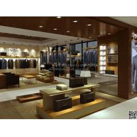 Buy cheap new style clothes display racks in shopping mall from wholesalers
